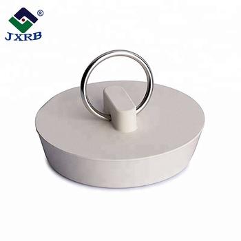 Favoriete Siliconen Bad Gootsteen Afvoer Stop Kraal Ketting Met Ring Of KP41