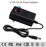 30W Universal AC/DC Adapter Switching Power Supply with 8 Selectable Adapter Tips & Micro USB Plug, for 3V to 12V Household