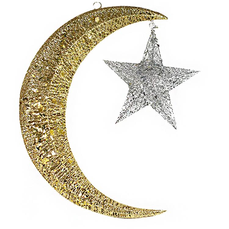 new design star moon shape metal christmas decorations for gifts buy metal christmas decorationsstar shape metal decorationsmoon shape metal decorations