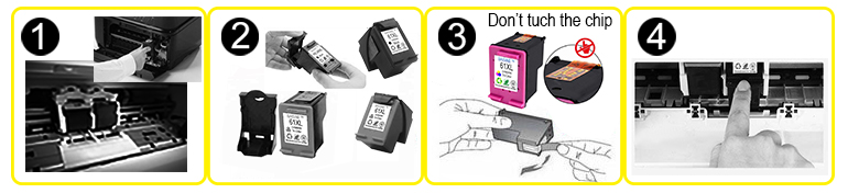 NEW Goods Baisine 933XL Remanufactured Ink Cartridge 932XL Non-original Ink Cartridge Compatible for Officejet 7610 7510 7110
