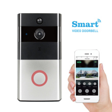 Home apartment door bell system video record peephole wifi doorbell camera
