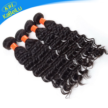 Guarantee high quality indiana remy human hair