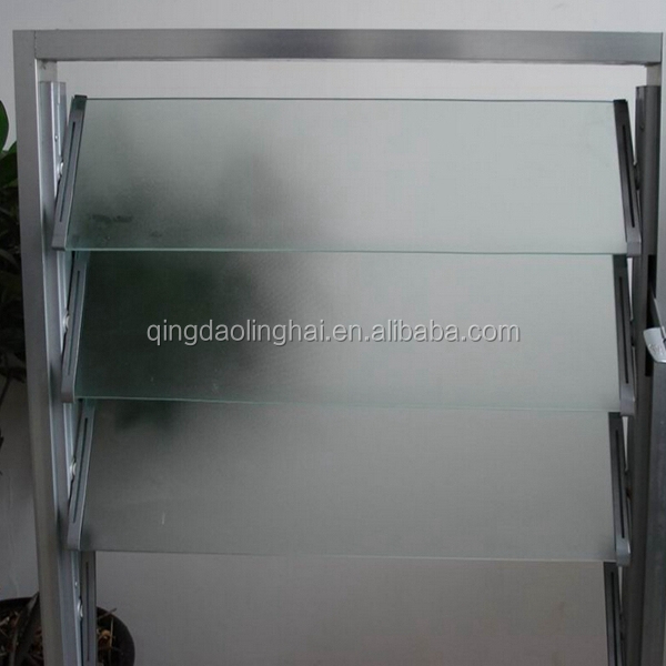 4mm 5mm 6mm color clear jalousie window glass for the window