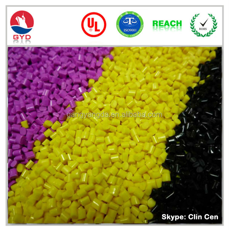 Flame retardant reinforced PC/PBT modified plastic alloy resin / Fire retardant enhanced PC and PBT compound FR material PC