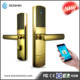 wireless electric lock magnetic card /phone unlock battery lock for interior doors