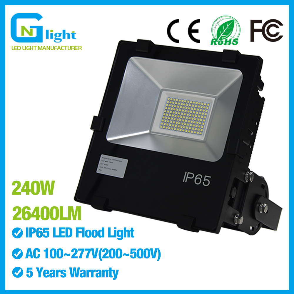 Outdoor Security Lights Warm White Led Flood Light 240w Replace
