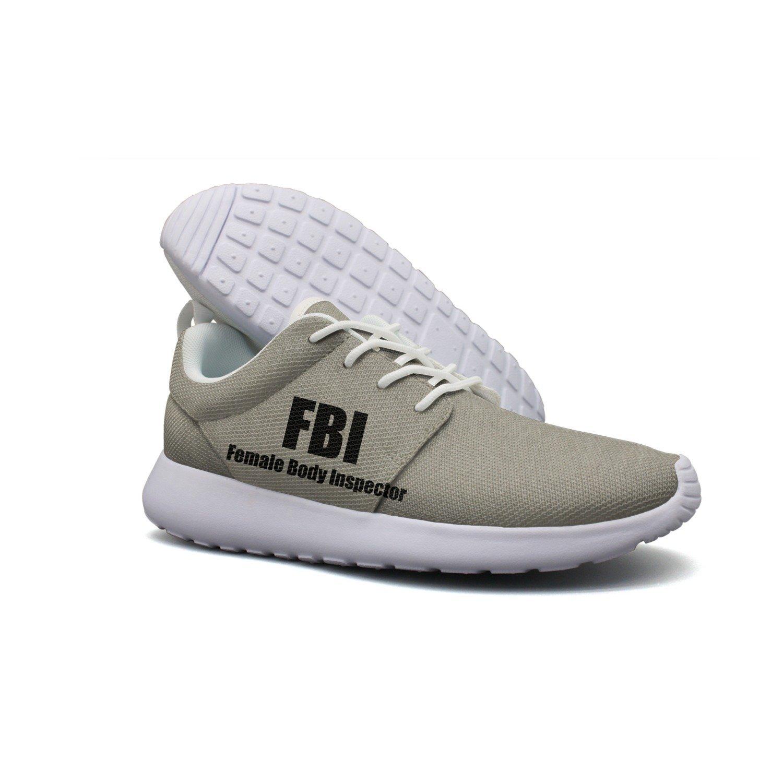 8a09b441579 Get Quotations · Fbi Female Body Inspector Men Lightweight Walking Shoes  Casual Sports Running Shoe Fashion