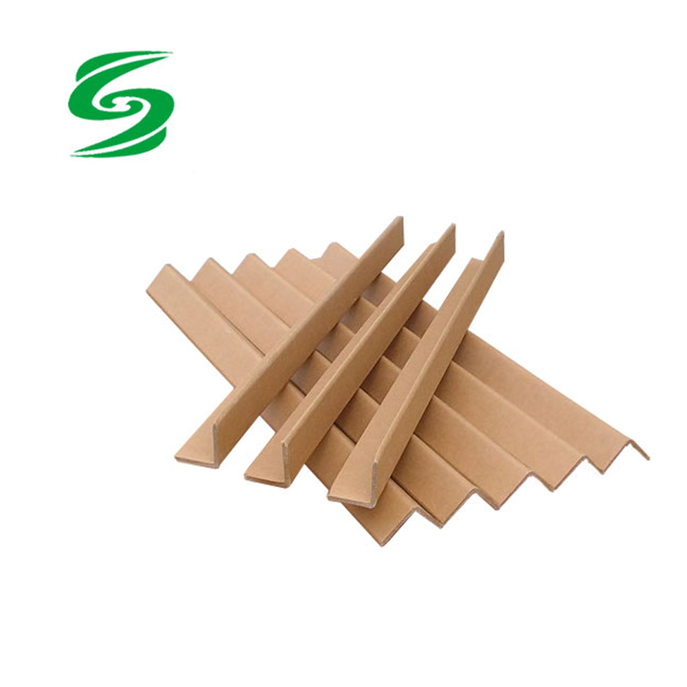 White Yellow Paper Angle Corner Box Edge Board Protector Factory Directly