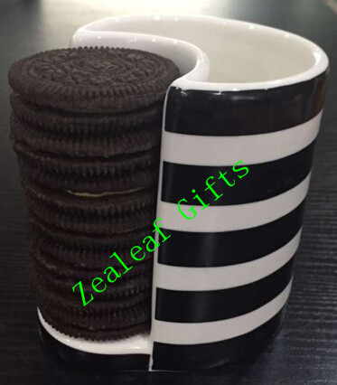 Coffee Cup With Biscuit Holder - The Coffee Table