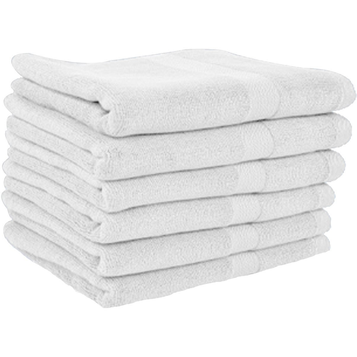 American Terry Mills 100% Cotton Hotel Grade Washcloths-Hand-Face Towels Pack - Extra Soft Ring Spun Cotton Washcloths, Highly Absorbent, 24 Pack