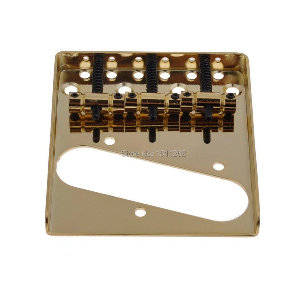 vintage 3 saddle bridge for fender telecaster tele tl style electric guitar string spacing 10. Black Bedroom Furniture Sets. Home Design Ideas