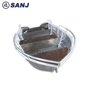 Chinese SJDV21 aluminum work boat manufacturers at low price