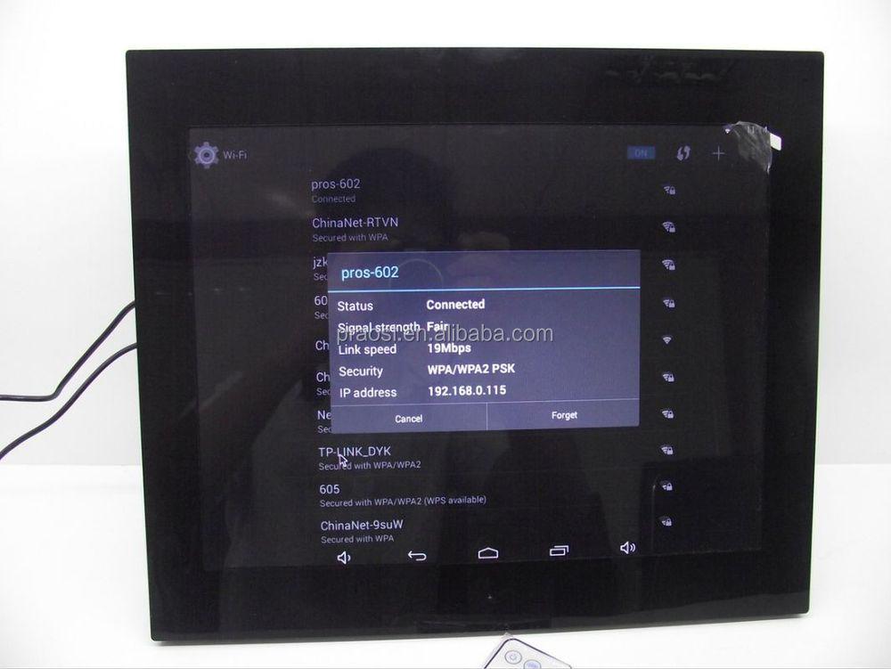 Großhandel Wifi Bluetooth Digitale Bilderrahmen Große Größe 15 Zoll ...