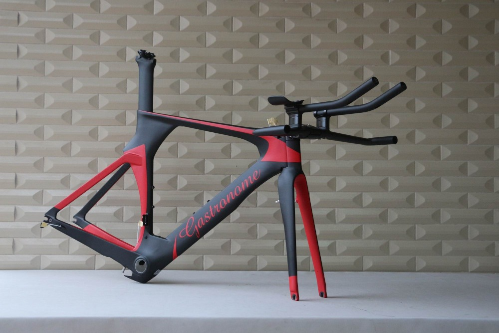 Customized Painting Carbon Tt Bike Frame Time Trail Bicyle Stock