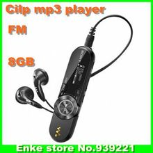 2014 Sport Mp3 player B152F for sony Real 8GB with clip + FM Radio Pen USB Flash Drive Recording MP3 music player -In stock