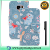 Low price special flip stand cover for iphone 4s new cell phone pu leather case with card slot