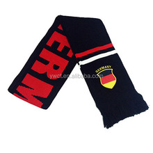 Wholesale Fashion Germany National Flag Fans Football Soccer Scarf