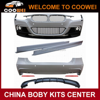 New 3 Series F30 Car M-P Style Bodykit For BMW F30 320i Sport Bumper Kits