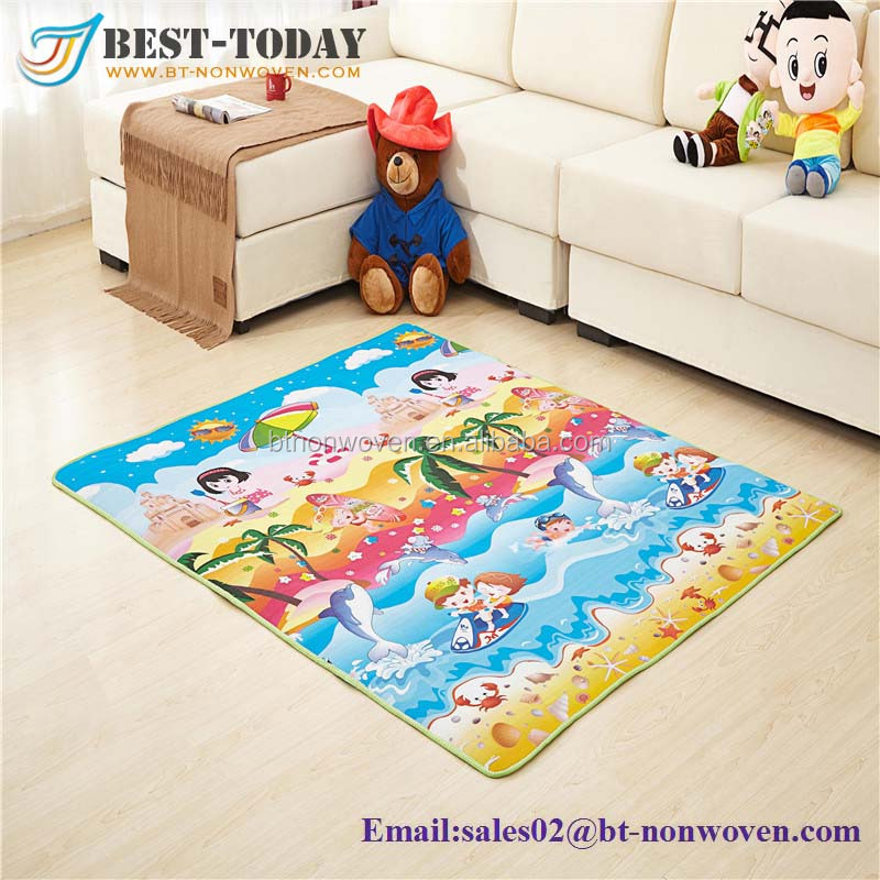 XPE/ PVC Waterproof Eco-friendly High Qualitly PVC Play Mat