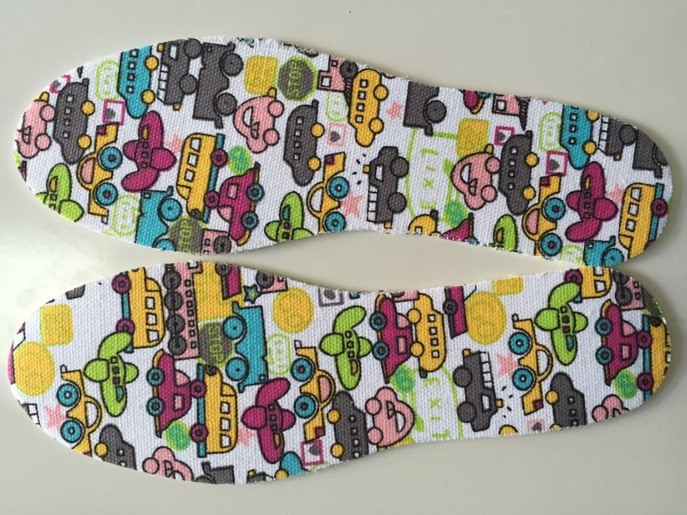 color soft latex foam cotton cloth Soft Insole,kid insole,child insole