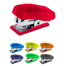 School supplies fashion style cheap price good quality 26/6 colorful eco-friendly plastic cute book binding stapler