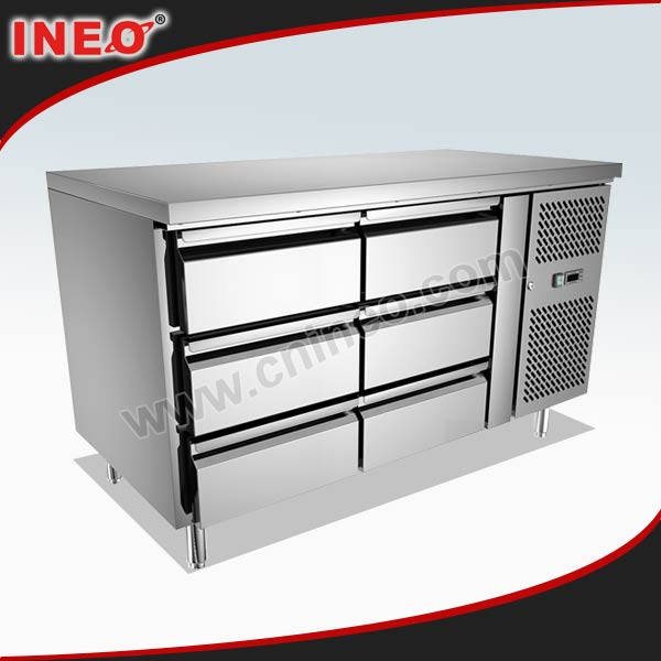 Work Table With Drawers Refrigerated Working Refrigeration Pizza