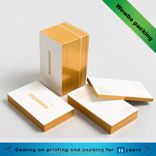 High quality hot stamping cheap business card printing