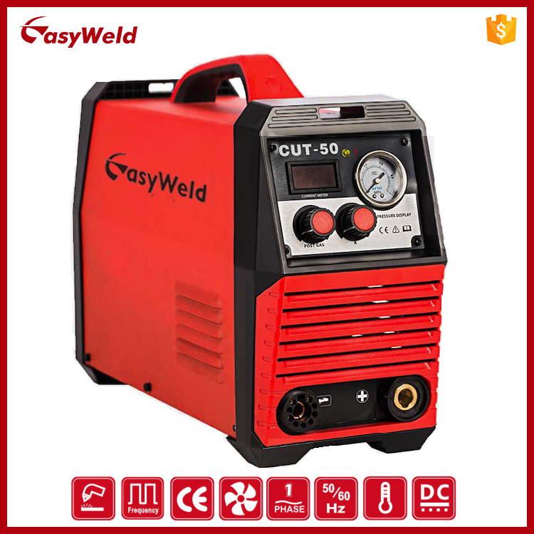 DC Inverter Small portable CUT-50 CE Low Cost Pilot arc Air Plasma cutter