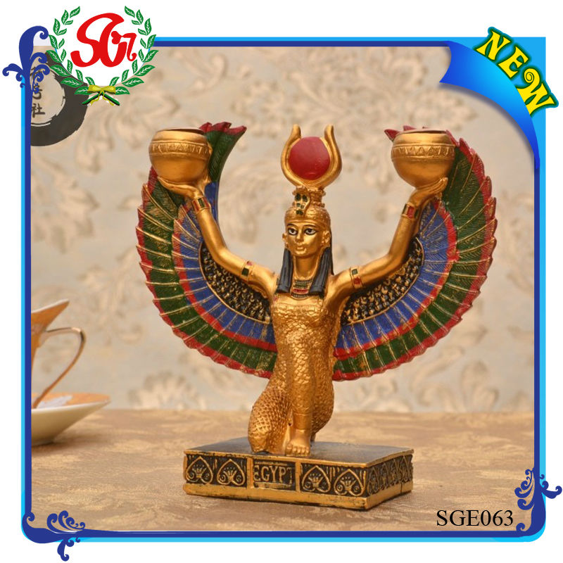 SGE063 Egyptian Queen Isis Egypt Statue