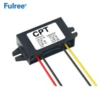 Slim Plastic Housing DC DC Step Down Converter 12V to 5V 1A 2A 3A 15W Buck Car Power Module Open Wires Output