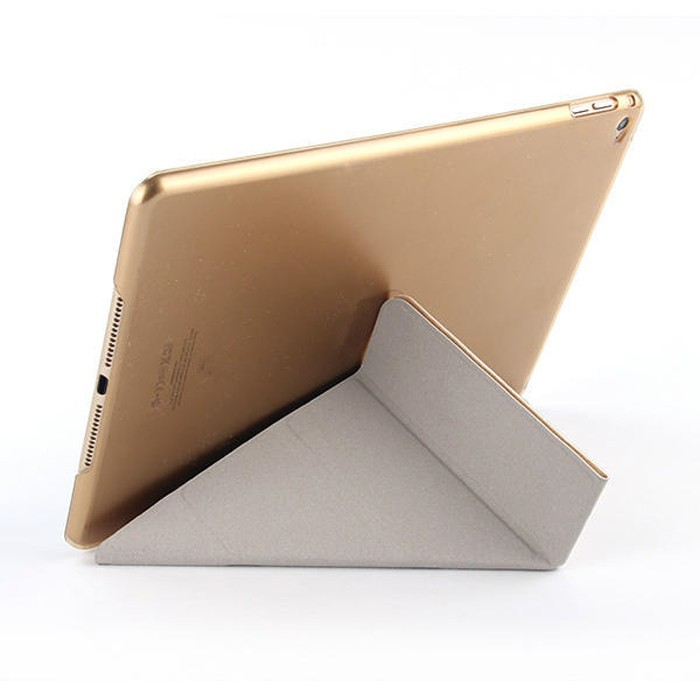 1pcs Retail Leather case for ipad pro 9.7 inch Folding Stand silk leather case for ipad pro 9.7 фото