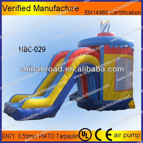 For home and mall dream bounce slide combo