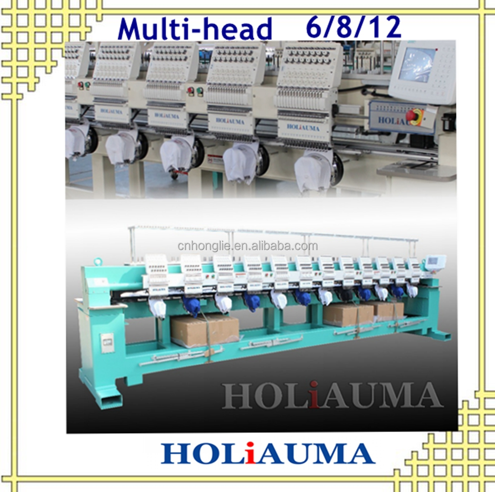 bEST 6/8/12 heads compuetr embroidery machine with Mixed functions