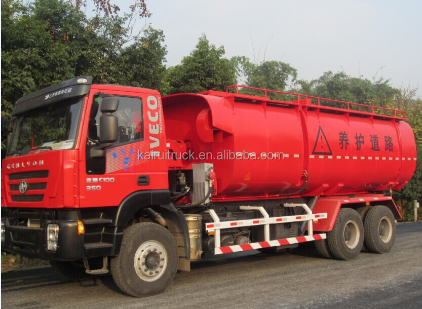 Asphalt Mixer truck with heating function