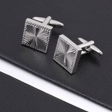 High quality custom oval cufflink in hot sale
