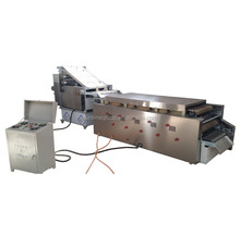 Fully automatic high capacity Chapati / Pita / Tortilla / Roti bread/ Lavash making machine with natual gas oven