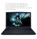 Newest!17.3 inch gaming laptop with intel core i7 6700 1920*1080 m.2 ssd 512gb hdd 1tb