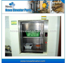 Hotel Kitchen Food Elevator with AC Machine 100kgs, 0.4m/s