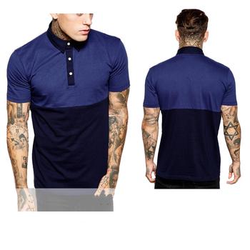 Pour Gros Nouveau En Foncé Polos Bleu Avec Homme Un Design IYe9WEDH2b