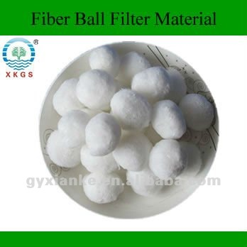Superior material of Fiber Ball Filter Media