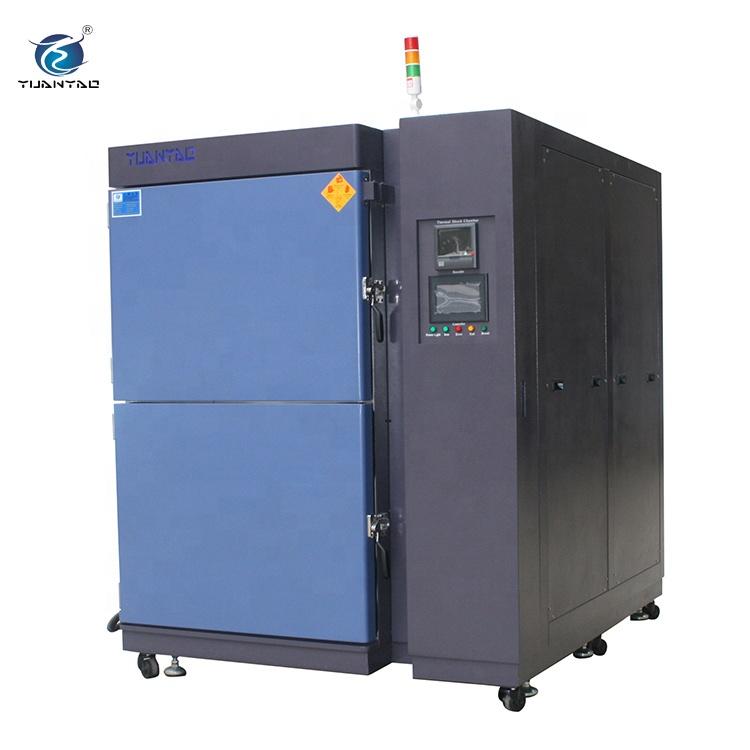 -40 graden Programmeerbare Klimatologische 3 Zones Thermische Shock Milieu Simulatie Thermische Fietsen Testkamer