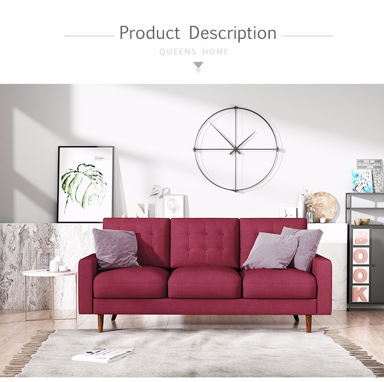 Tremendous Queenshome Red Home House Furniture Fabric Contemporary Pdpeps Interior Chair Design Pdpepsorg