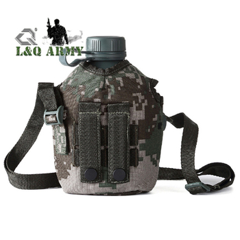 Outdoor Military Hiking Water Bottle Bag Kettle Pouch Holder