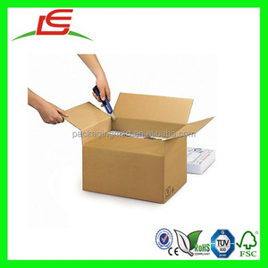 N957 Wholesale China Custom Printed Double Wall Adjustable Standard Packing Box Sizes