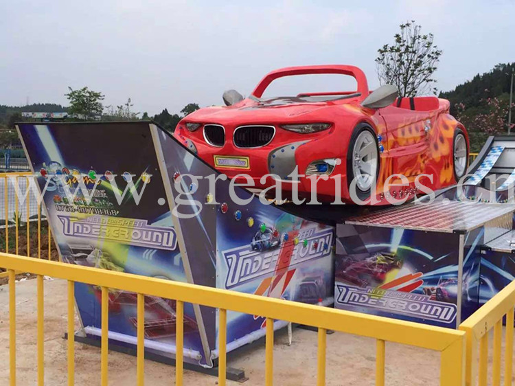 Good business cheap amusement equipment rotary speed flying car rides for sale