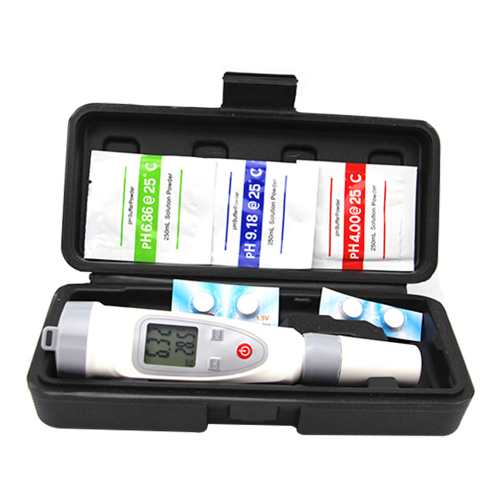Digital PH Meter Tester Pocket Pen LCD Aquarium Pool Water Urine Lab Monitor
