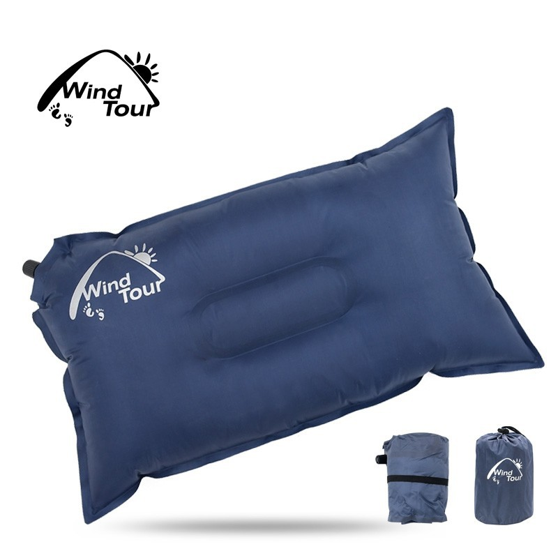 Leisure Inflatable Beach Pillow Automatic Air Pillow for Camping Travel