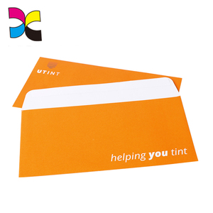 Wholesale printed DL size cheap white letter envelope