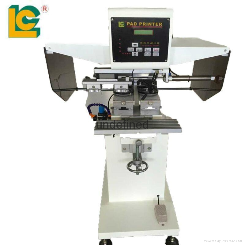 New Products Manual/automatic Grade Pad Printing Machine Lc-pm2-100-2pt In  China Price - Buy Digital Print Machine Roll To Roll Textile Printer,Dymo