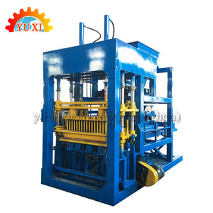 Hot Sale Brick Making Machine Equipment Manufacturer QT15-20 Concrete Tile Making Machine Block Moulding Machine Cheap Prices